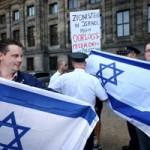 JPJ Pro Israel demonstratie op de Dam